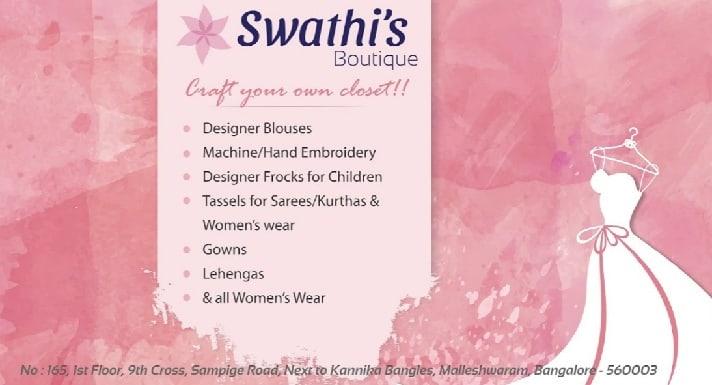 Swathi Boutique Bangalore