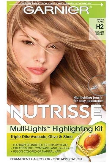 Garnier Nutrisse Hair Color Golden blonde Toffee Swirl