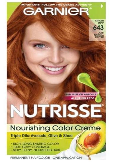 Garnier Hair Color Nutrisse Nourishing Color Light Copper