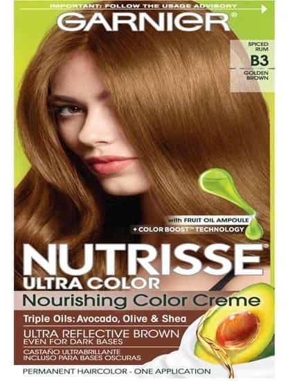 Garnier Hair Nutrisse Golden Brown Café Con Leche