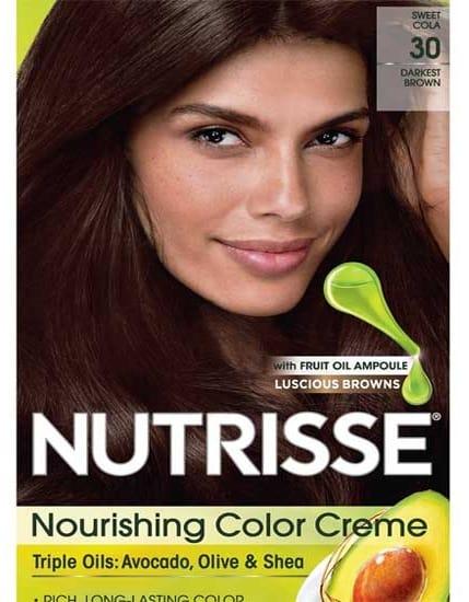 Garnier Nutrisse Hair Color Darkest Brown Sweet Cola