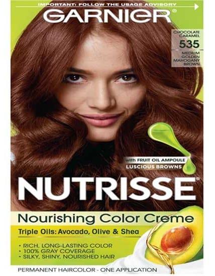 Garnier Nutrisse Hair Color Medium Golden Mahogany