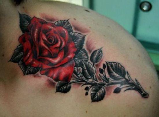 Rose Tattoo Designs 11