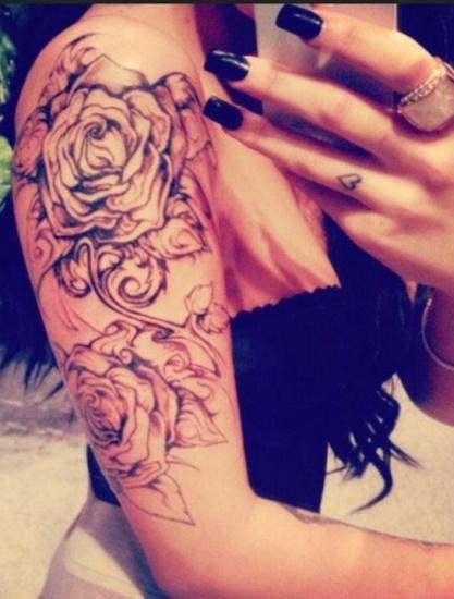 Rose Tattoo Designs 6