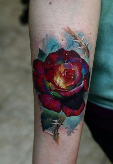 Rose Tattoo Designs 8