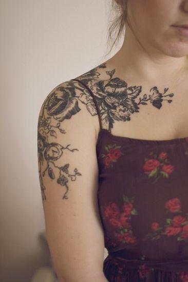 Rose Tattoo Designs 9