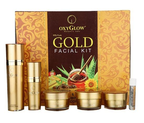 Oxyglow gold facial kit