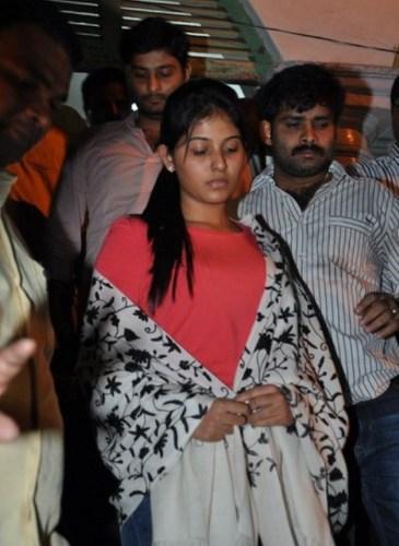Tamil Actress Anjali at Hyderabad DCP Office Photos