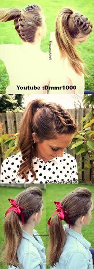 braided ponytails8