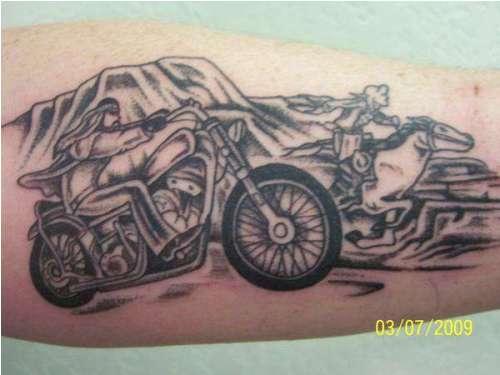 Harley Davidson tattoo 4