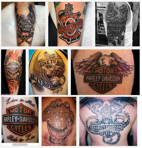 harley davidson tattoo designs
