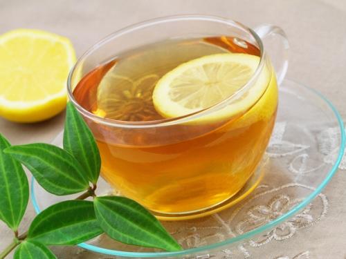 lemon and green tea