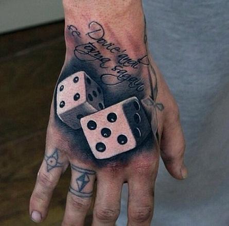 Top 9 Auspicious Dice Tattoos for Women and Men