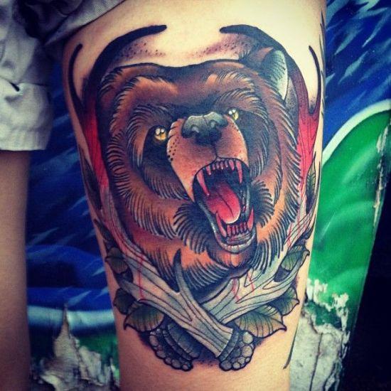 Bear Tattoo 3