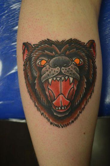 Bear Tattoo 2