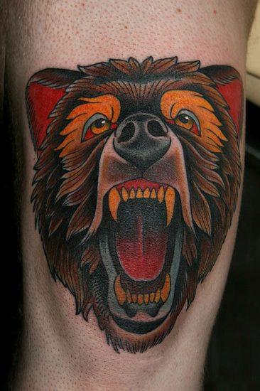 Bear Tattoo 7
