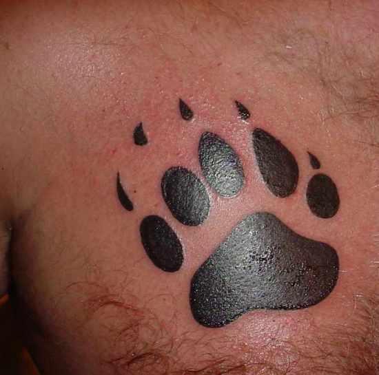 Bear Tattoo 8