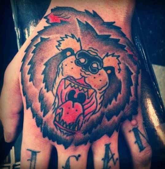 Bear Tattoo 1