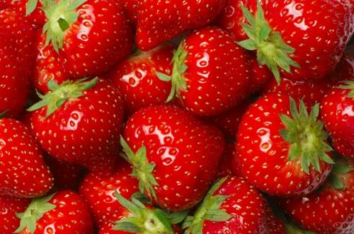 Foods For Healthy Skin Strawberries