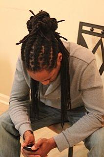 Fashionable thin braids