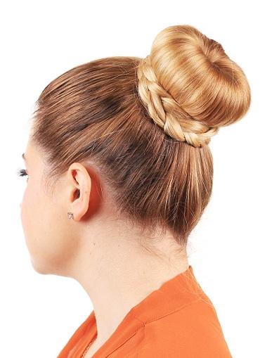 latest Braided bun hairstyles - The Ballerina Bun