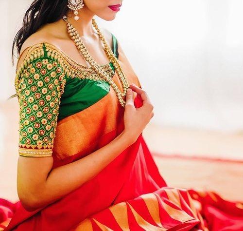 Designer blouse for Pattu sarees (edited)9