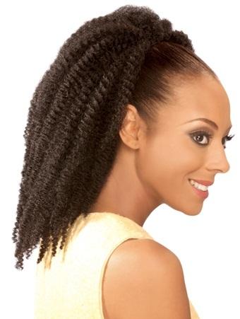 Drawstring ponytails 6