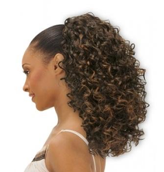 Drawstring ponytails 9