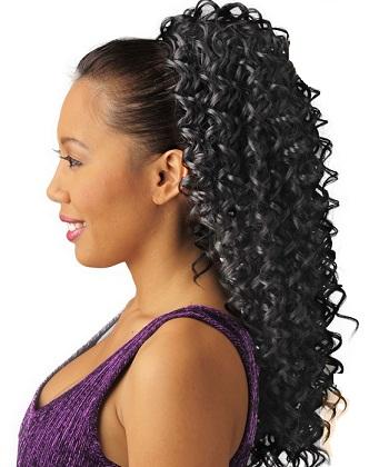 drawstring ponytails 1