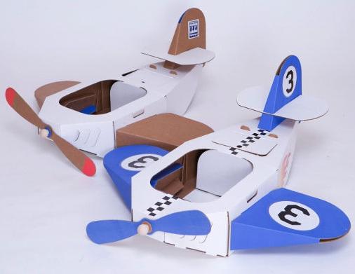 Cardboard Plane Craft