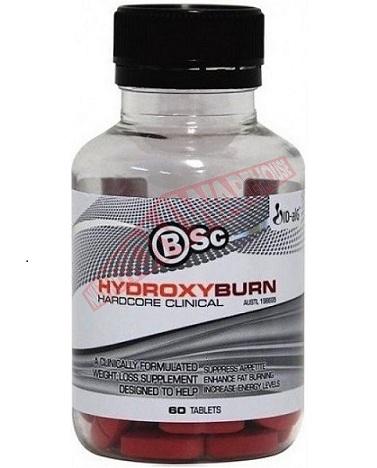best fat burning supplement - Bsc Body Science Hydroxyburn Hardcore