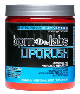 BPM Labs Lipo Rush - top fat burning supplements