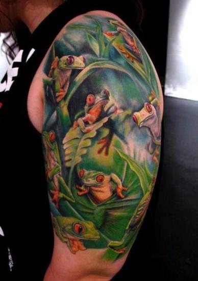 Frog Tattoo 5