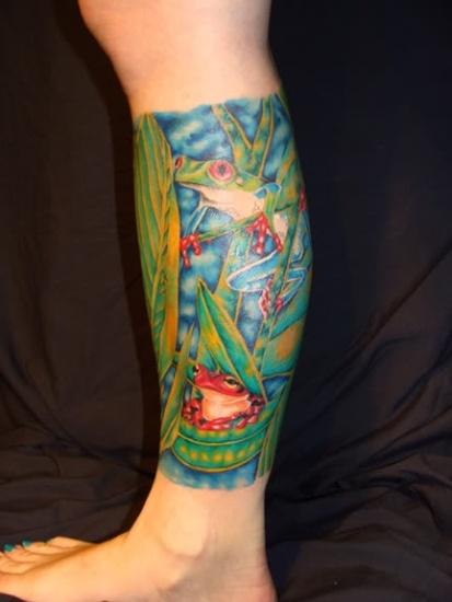 Frog Tattoo 8