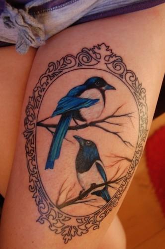 Thigh tattoos 3