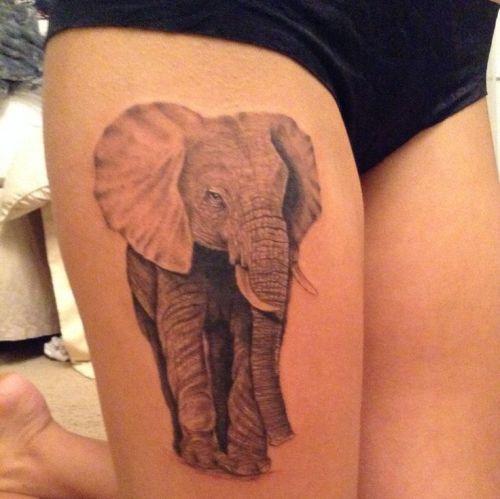 Thigh tattoos 4