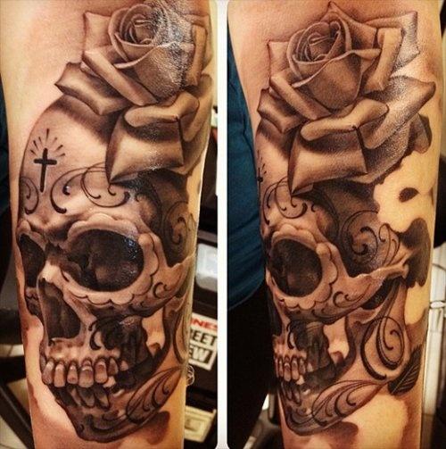 Thigh tattoos 5