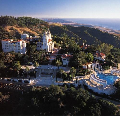 Honeymoon places in California Hearst Castle at San Simeon