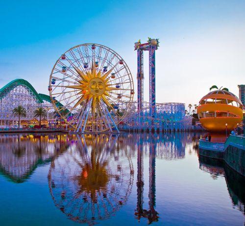 Honeymoon places in California Disneyland