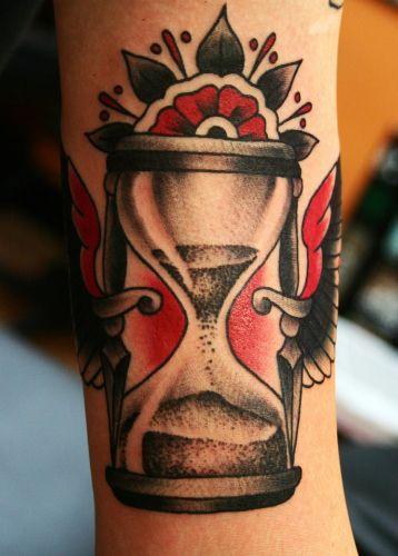 Hourglass Tattoo 9