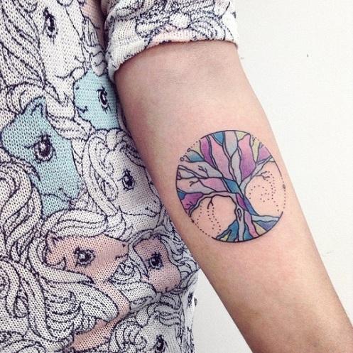 Simple Designer Celestial Tattoos