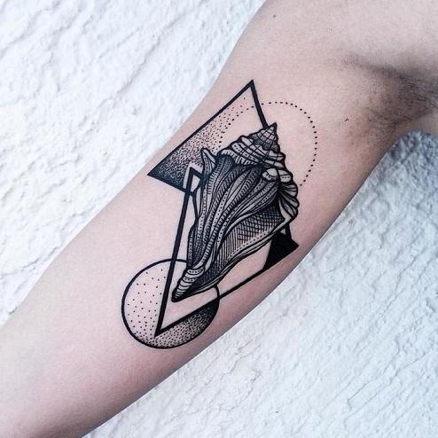 Geometric Celestial Tattoos