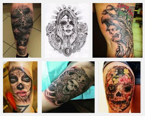 mexican tattoo designs