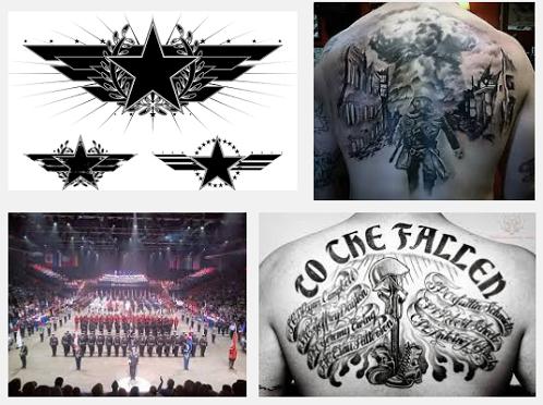 military tattoo designs