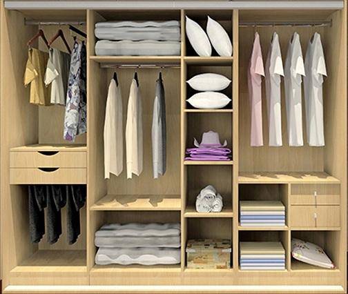 Modular bedroom cabinets