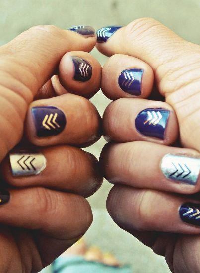 Nail Art Tattoo 6