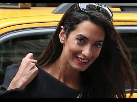 Amal Clooney Without Makeup 3