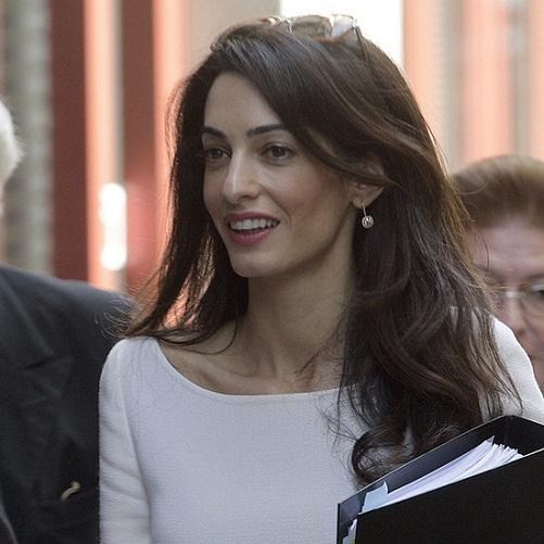 Amal Clooney Without Makeup 4