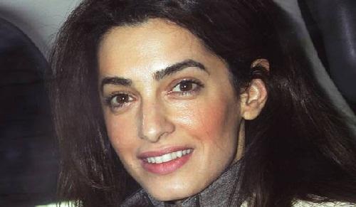 Amal Clooney Without Makeup 7