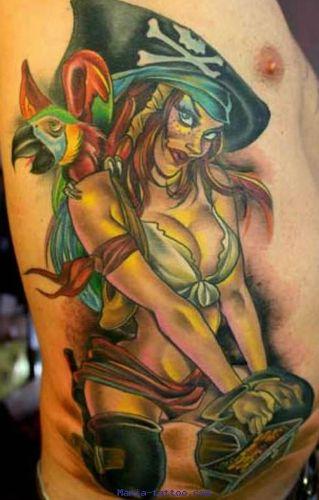 Pirate Tattoo Designs3
